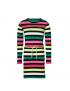 Quapi - Jurk - Daantje - Multi Colour Stripe
