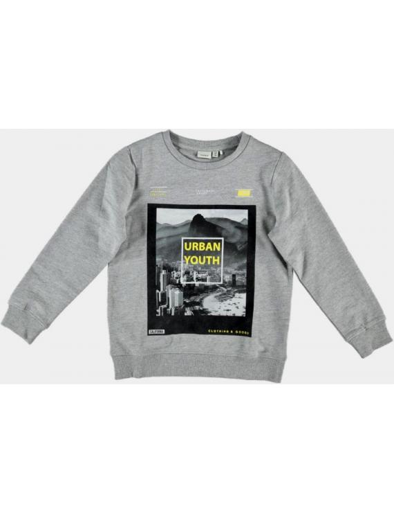 Name it - Sweater - NKM Dechamp - Grey Melange