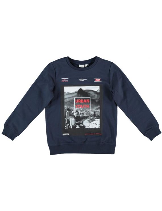 Name it - Sweater - NKM Dechamp - Dark Sapphire