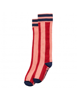 Quapi - Chaussettes - Djenti - Red Chili Stripe