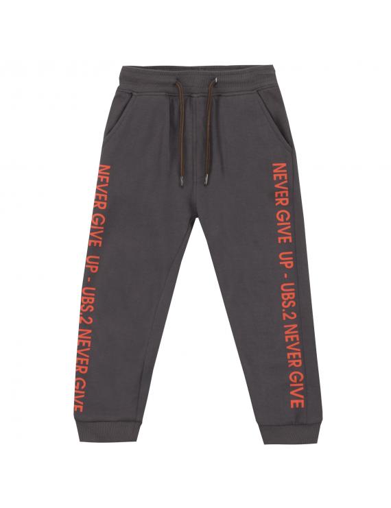 UBS2 - Sweatpants - Never Give Up - Grijs