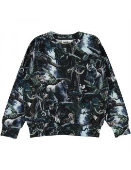 Molo - Sweater - Mik - Moonlit Jungle