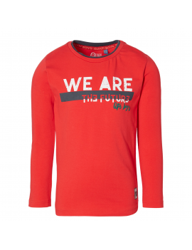 Quapi - Longsleeve - Damon - True Red