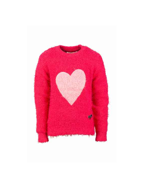 Someone - Pull - Heart - Medium Pink