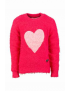 Someone - Trui - Heart - Medium Pink