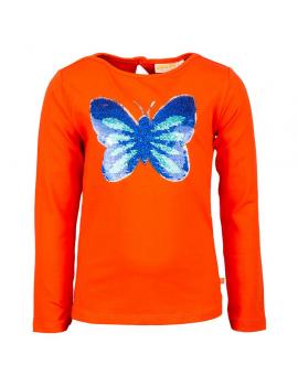 Someone - Longsleeve - Papillon - Orange