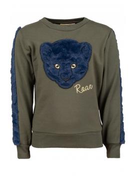 Someone - Sweater - Animal - Khaki