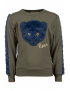Someone - Sweater - Animal - Khaki