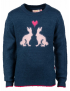 Someone - Sweater - Flock - Navy