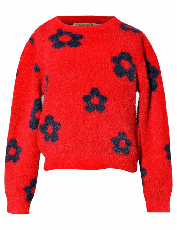 Someone - Sweater - Kaat - Red