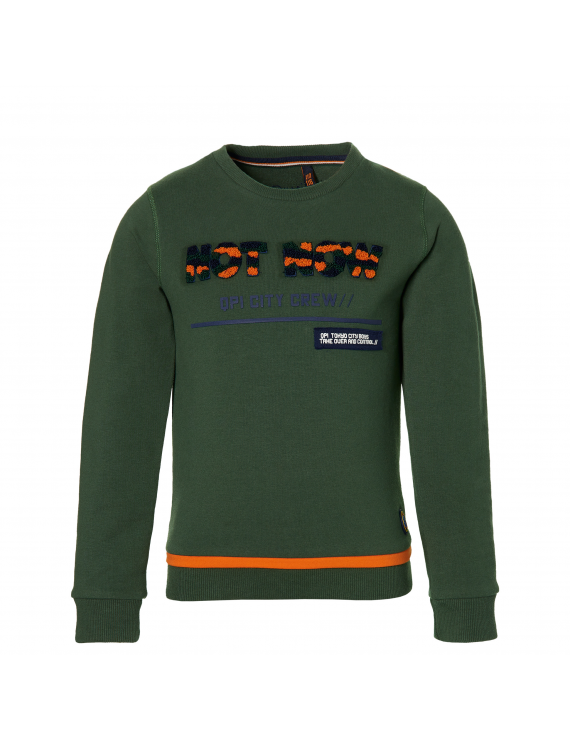 Quapi - Sweater - Denver - Dark Green