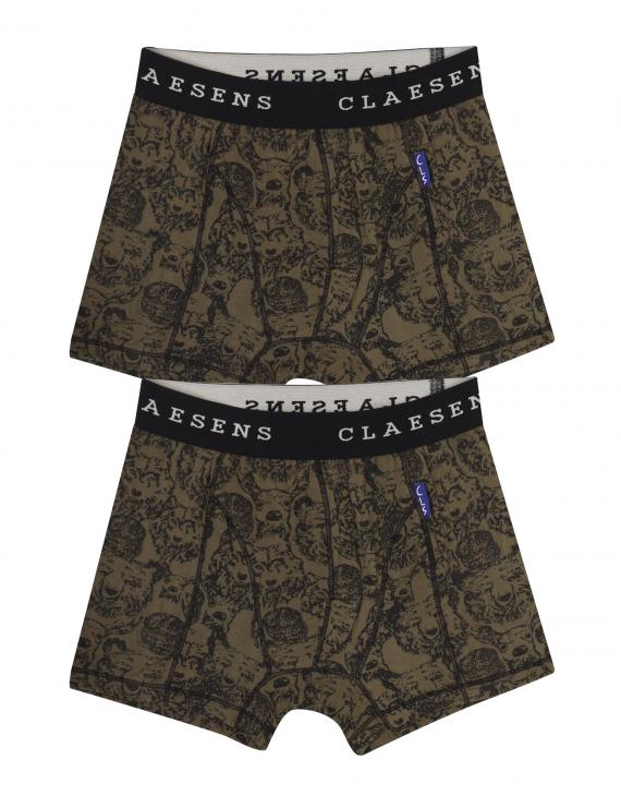 Claesen's - Boys 2-pack Boxershorts - Animals