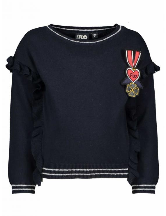 Like Flo - Sweater - Dark Navy Blue