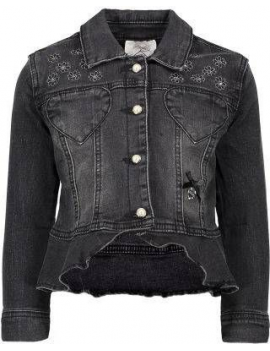 Le Chic - Jeansvest - Black Denim