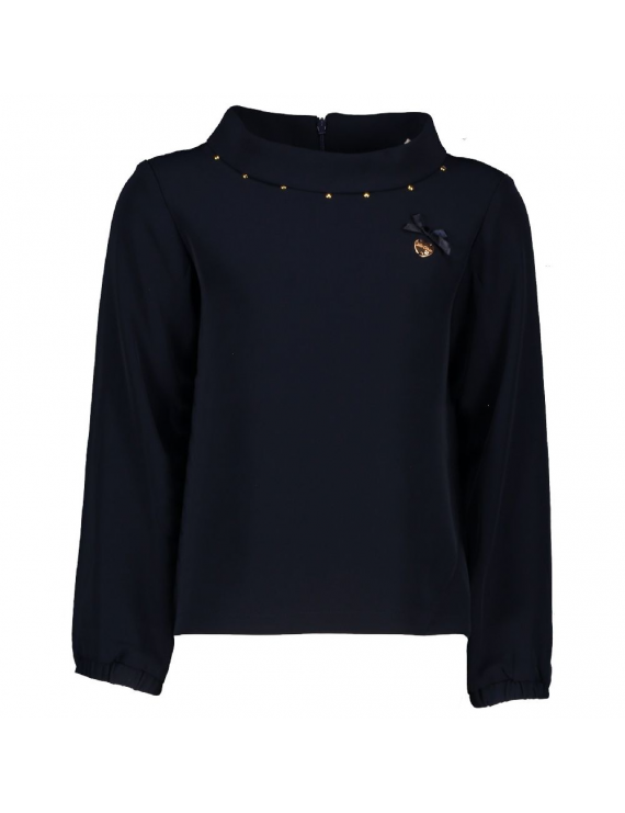 Le Chic - Blouse - Donker Blauw
