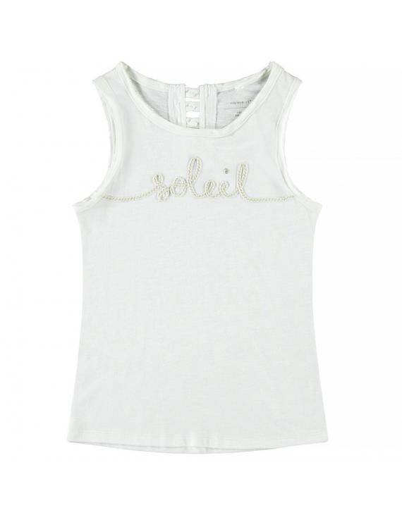 Name it - Top - Famila Soleil - Bright White