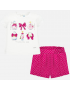 Mayoral - Set Short + T-Shirt - Fresa