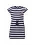 Woody - Robe de plage - Tigre - Blanc / Bleu