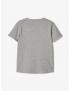 Name it - T-Shirt - Photo - Grey Melange