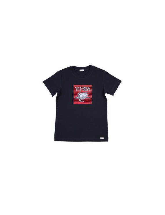 Gymp - T-Shirt - To Sea - Marine