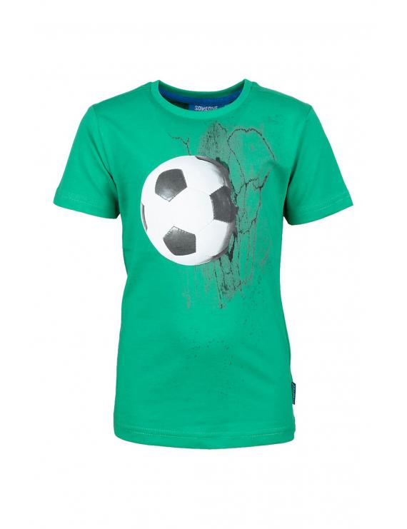 Someone - T-Shirt - Foosball - Groen