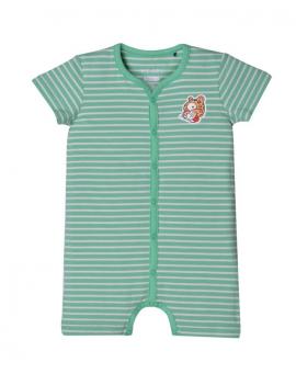 Woody - Romper - Jade Stripes