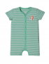 Woody - Romper - Jade Stripes