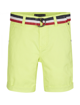 Tommy Hilfiger - Short - Chino - Safety Yellow