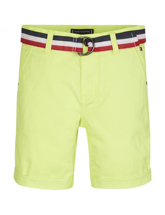 Tommy Hilfiger - Short - Chino - Safety Yellow