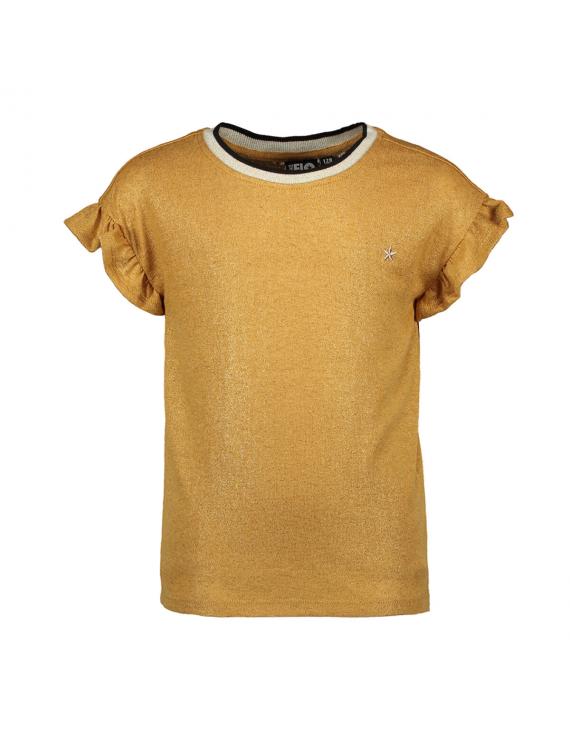 Like Flo - T-Shirt - Metallic Yellow