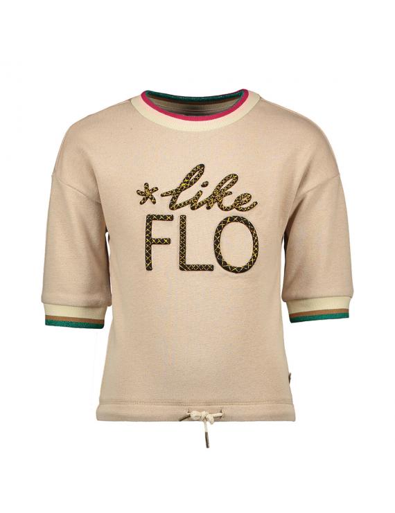 Like Flo - T-Shirt - Flo - Ecru Melee