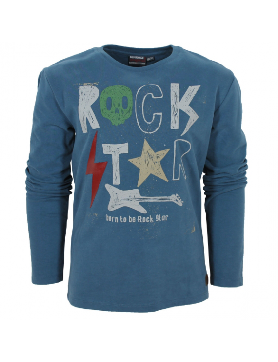 Longsleeve - Hansford - Ensign Blue