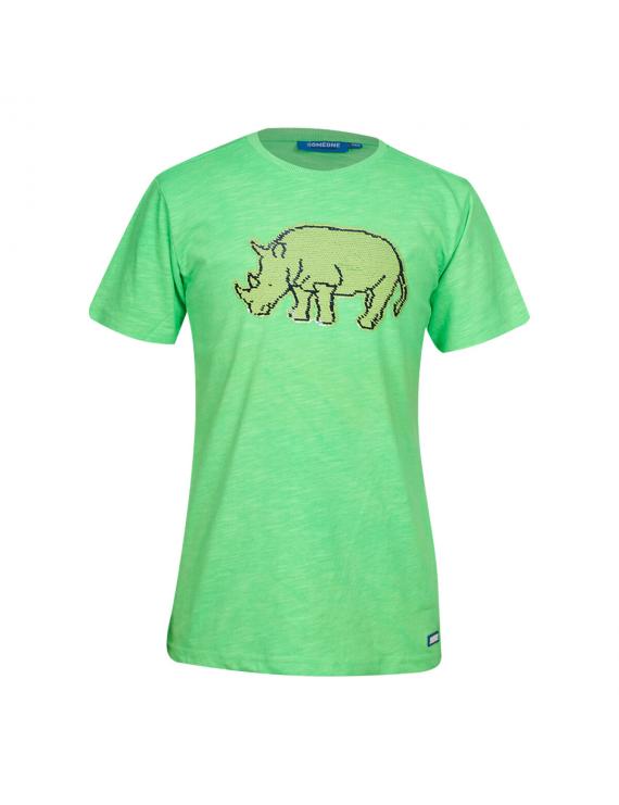 Someone - T-Shirt - Tarzan - Fluo Green