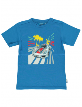 Someone - T-Shirt - Car - Blue