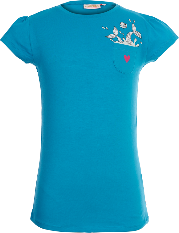 Someone - T-Shirt - Mermaid - Aqua
