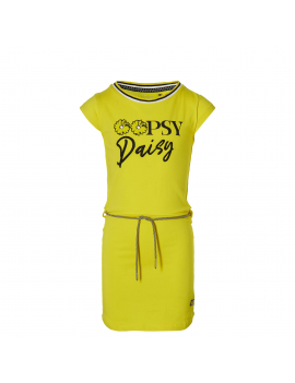 Quapi - Jurk - Fab - Summer Yellow