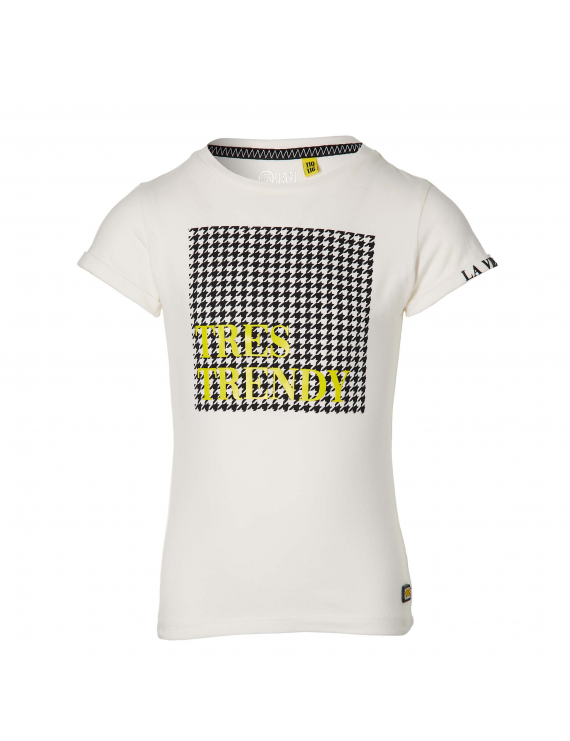 Quapi - T-Shirt - Fay - Off White