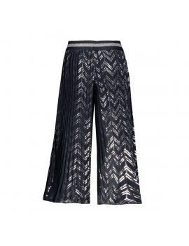 Le Chic - Pantalon - Culotte - Bleu