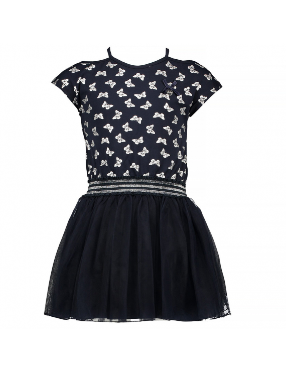 Le Chic - Robe - Butterflies - Blue Navy