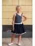 LoffF - Jurk - Dancing Dress - Sprinkle Blue Print