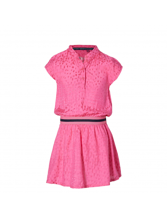 Quapi - Jurk - Faimy - Hot Pink