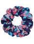 Quapi - Skrunchie - Froukje - Dark Blue Flower