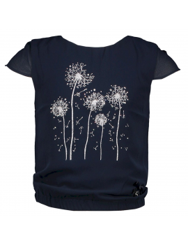 Le Chic - T-Shirt- Dandelion - Navy Blue