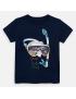 Mayoral - T-Shirt - Scuba - Azul