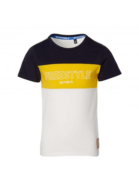 Quapi - T-shirt - Fadi - White