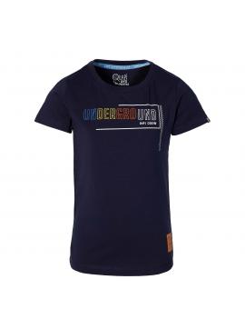 Quapi - T-Shirt - Fabyo - Dark Blue