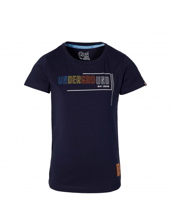 Quapi - T-Shirt - Fabyo - Dark Blue