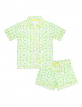 Claesen's - Girls Pyjama - Daisy Stripes