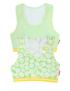 Claesen's - Girls 2-Pack Crop Top - Daisy Stripes