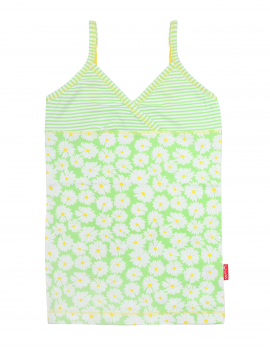 Claesen's - Girls 2-Pack Singlet - Daisy Stripes